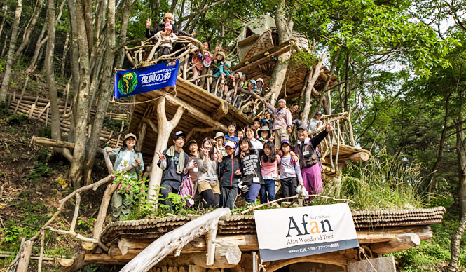 REPORT|宮城県東松島市でC.W.ニコルらが進める「森の学校」