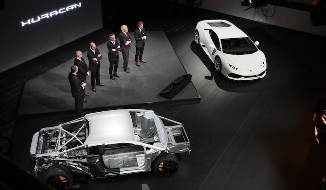 ランボルギーニ ウラカンを解剖する|Lamborghini