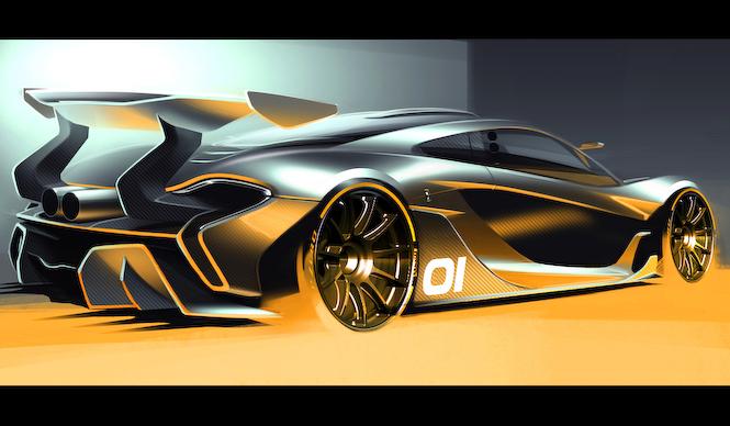 マクラーレンのサーキット専用モデル、P1 GTRが登場