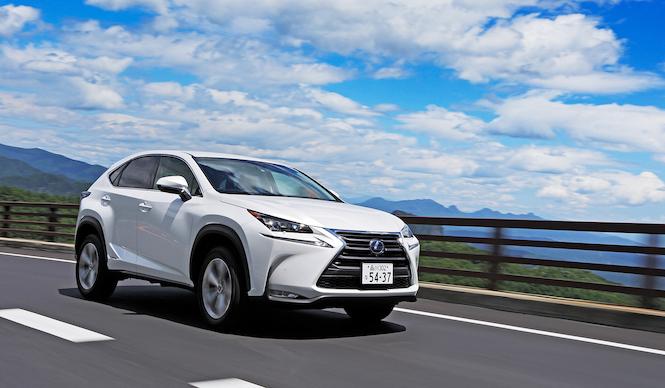 レクサスの新コンパクトSUV「NX」を試乗する|Lexus