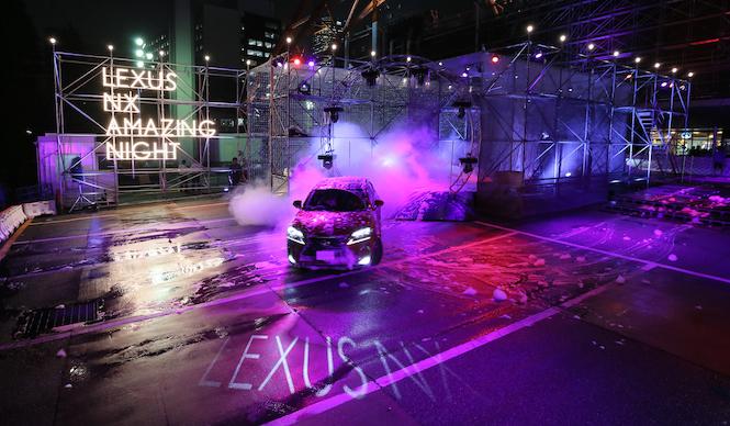LEXUS NX AMAZING NIGHTが開催|Lexus
