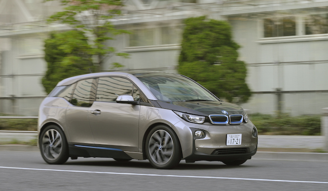 BMW i3を国内試乗|BMW