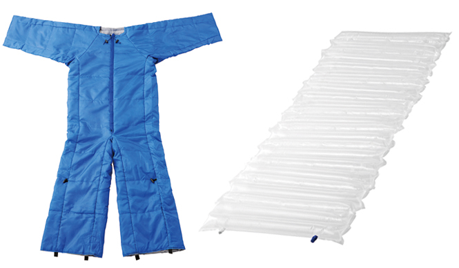 KING JIM|動ける簡易寝袋「着る布団&エアーマット」