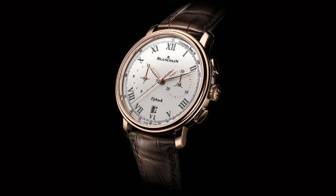 BLANCPAIN|クラシックな腕時計「クロノグラフ パルスメーター」
