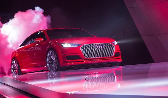 アウディTTスポーツバック コンセプト発表 Audi