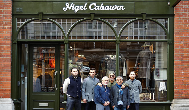 415c58a1191e5c Nigel Cabourn 「Nigel Cabourn THE ARMY GYM London Store」オープン ...