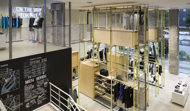 EN ROUTE|新セレクトショップ「アンルート」1号店が銀座にオープン