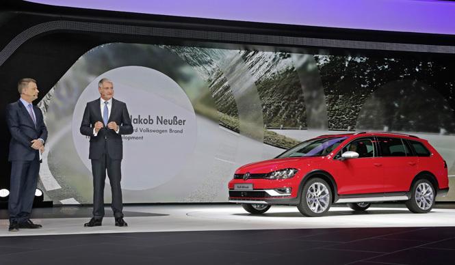 ゴルフ オールトラックがパリで登場|Volkswagen