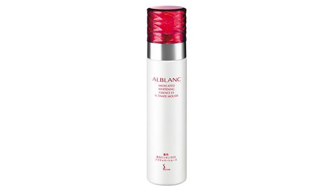 "ALBLANC|美白成分を含んだ""炭酸""の濃密な泡が楽しめる美白美容液"