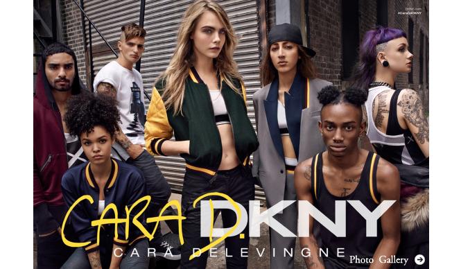 thecorner.com|「Cara Delevingne for DKNY」発売中