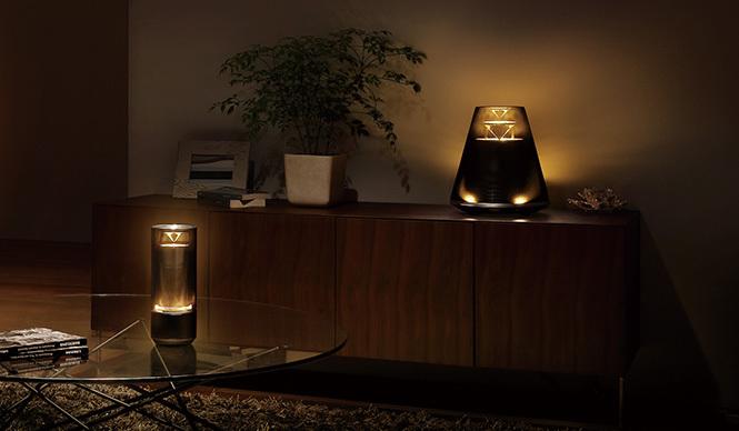 YAMAHA|間接照明とオーディオが一体化した新製品