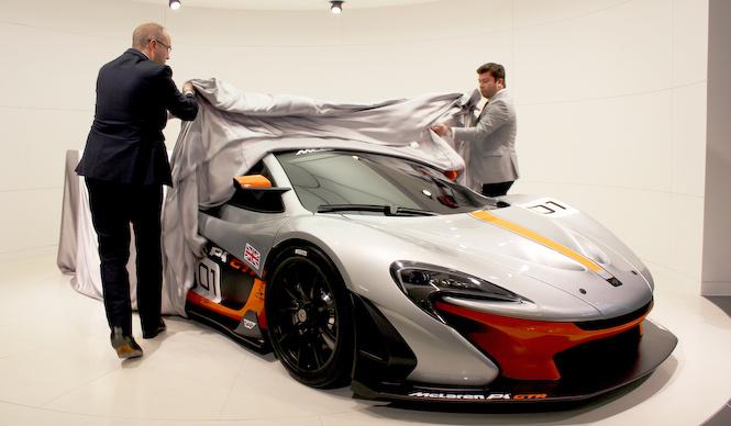 サーキット専用モデル、マクラーレンP1GTR日本公開 McLaren