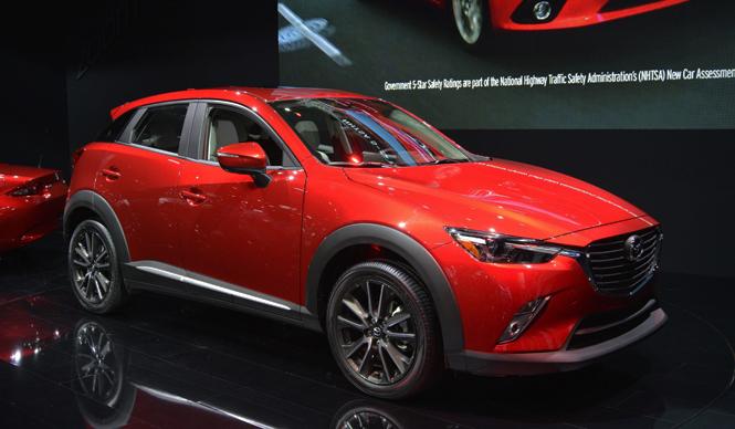 LAショーでワールドプレミア、マツダ CX-3|Mazda