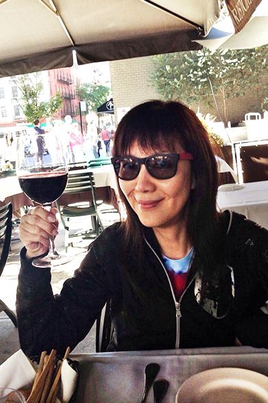 とにかくよくビールとワインを飲みました。ニューヨークは乾燥してるんですかね?