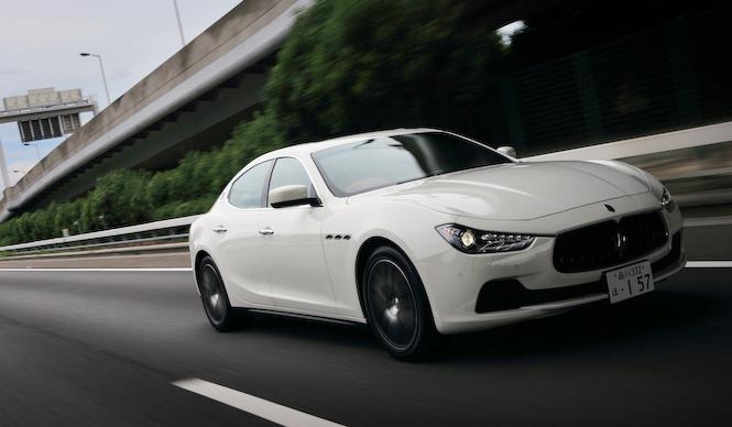 ドイツ製スポーティサルーンの対抗馬、マセラティ ギブリに試乗 Maserati