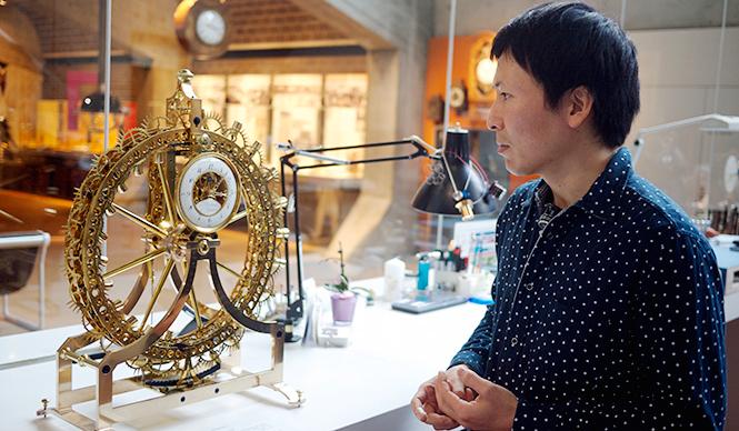 連載|スイスで、活躍する日本人時計師 | Web Magazine OPENERS