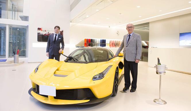 ラ フェラーリ国内第一号車が納車。デリバリーはじまる|Ferrari