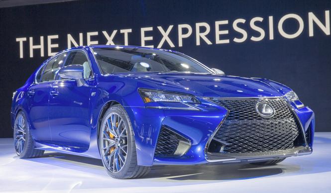 スポーツセダン、レクサスGS Fをデトロイトで初公開 Lexus