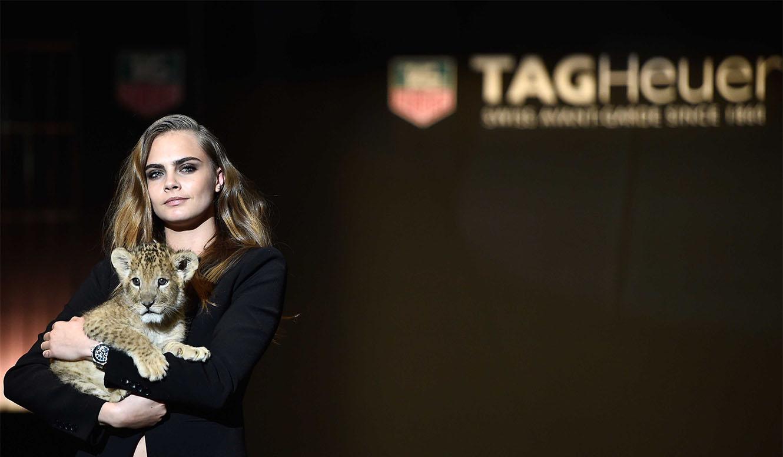 TAG Heuer|カーラ・デルヴィーニュが新アンバサダーに