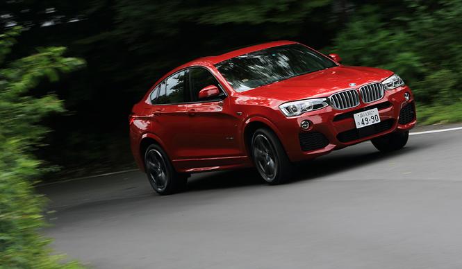 スポーツ性と軽快さをまとった新世代SUV、BMW X4に試乗|BMW