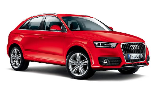 アウディQ3に色あざやかな特別限定モデル|Audi
