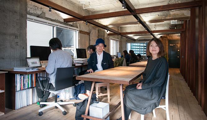 SUPPOSE DESIGN OFFICE|建築家の谷尻 誠と吉田 愛がリノベした東京新事務所