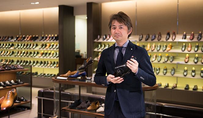 GINZA MITSUKOSHI|銀座の男の足もとを美しく飾る銀座三越7階「