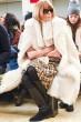 Anna Wintour|アナ・ウィンタートリー バーチのファッションショー会場・ニューヨーク