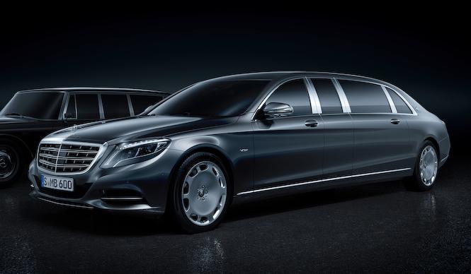 マイバッハ第2のモデルは「プルマン」|Mercedes-Maybach