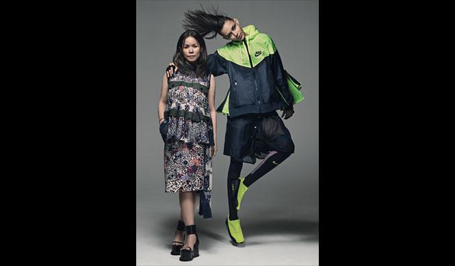 NIKE スポーツスタイルをあらたに定義する「NikeLab × sacai コレクション」発表