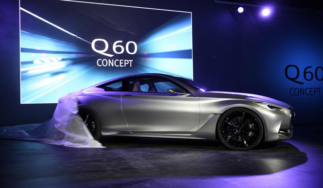 Q50 クーペ >> インフィニティQ60コンセプト、あきらかになる次世代クーペ ...