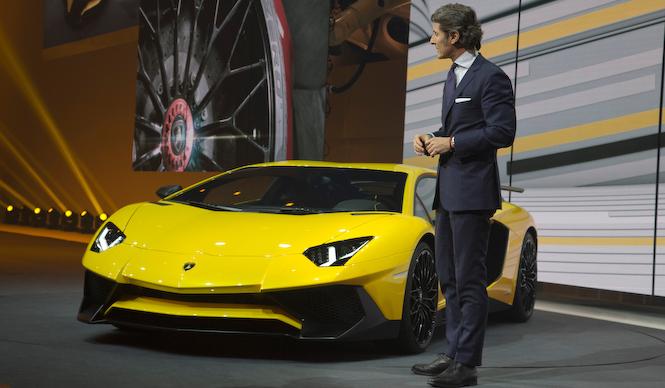 アヴェンタドールに スーパーヴェローチェ登場|Lamborghini