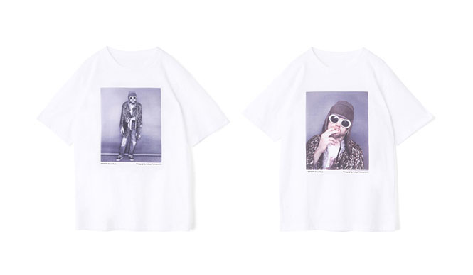 MAISON DE REEFUR|梨花×野口強による「カート・コバーンスペシャルTシャツ」発売