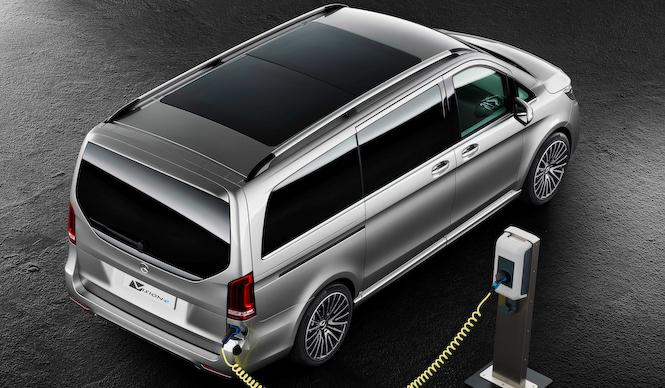ミニバンの可能性を提案するPHVコンセプト「ヴィジョンe」|Mercedes-Benz