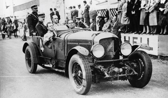 1930 Bentley winningcar ベントレー 1930年 ルマン優勝車