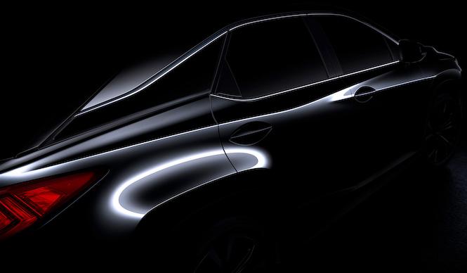 レクサス、新型RXの登場を予告|Lexus