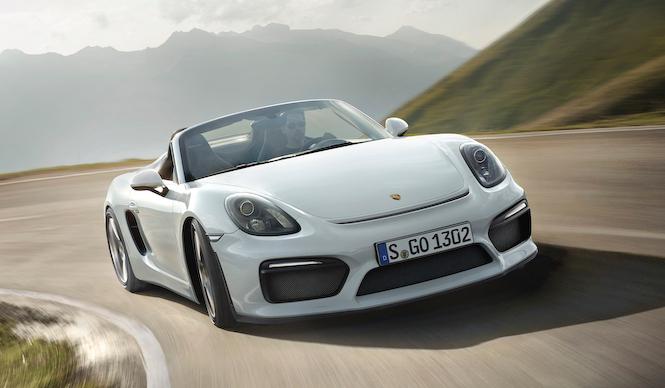 新型ボクスター スパイダーが登場|Porsche