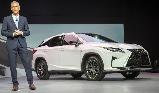新型RX、ニューヨークでデビュー|Lexus