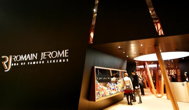 ROMAIN JEROME|BASELWORLD 2015 バーゼルワールド速報