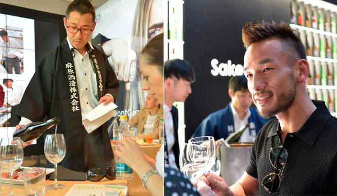 SAKENOMY|中田英寿がミラノで日本酒プロジェクト「SAKENOMY」をスタート