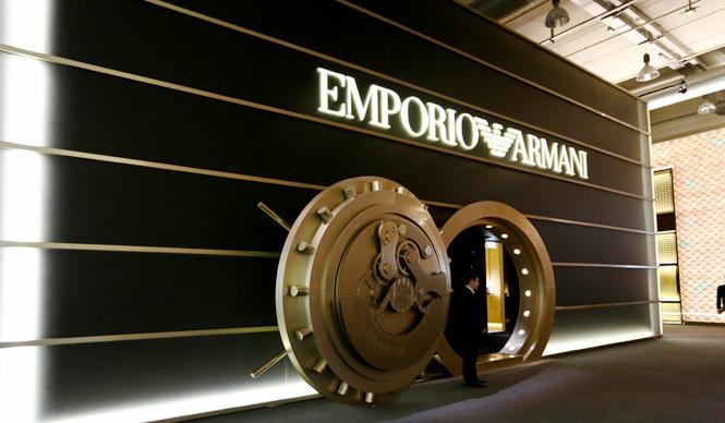 EMPORIO ARMANI SWISS MADE BASELWORLD 2015 バーゼルワールド速報 エンポリオ アルマーニ スイスメイド