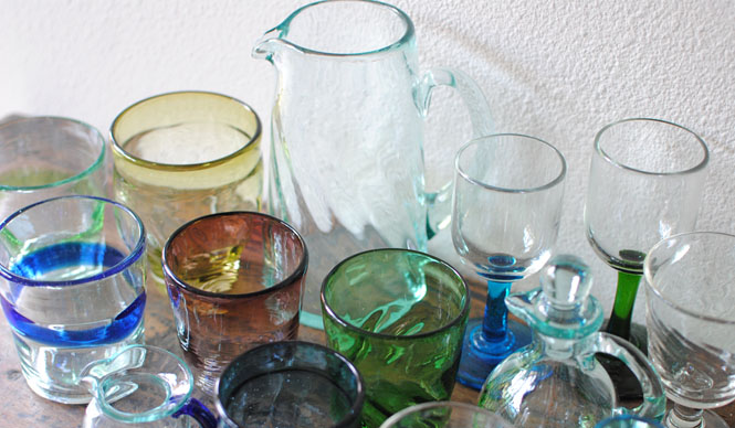 EXHIBITION|「民藝のある暮し 手しごと」開店1周年企画「初夏のガラス展」を開催