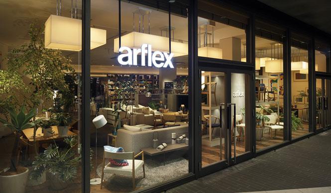 Arflex|インテリアと書籍が織りなす「アルフレックス 玉川」の魅力