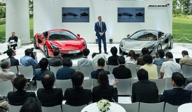 マクラーレン、540Cと570Sのふたつのスポーツシリーズを日本で公開|McLaren