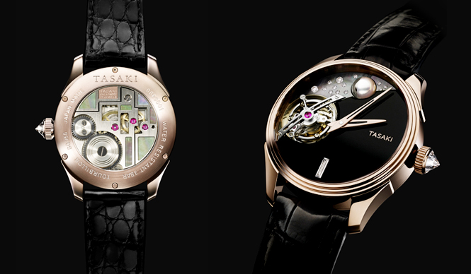TASAKI|タサキ初、高級腕時計「タイムピーシーズ」誕生