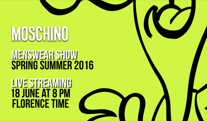 MOSCHINO|2016春夏 メンズコレクションのショーをライブストリーミング