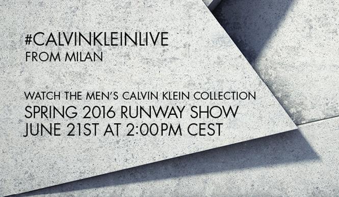 CALVIN KLEIN COLLECTION カルバン・クライン コレクションのランウェーショーをライブストリーミング
