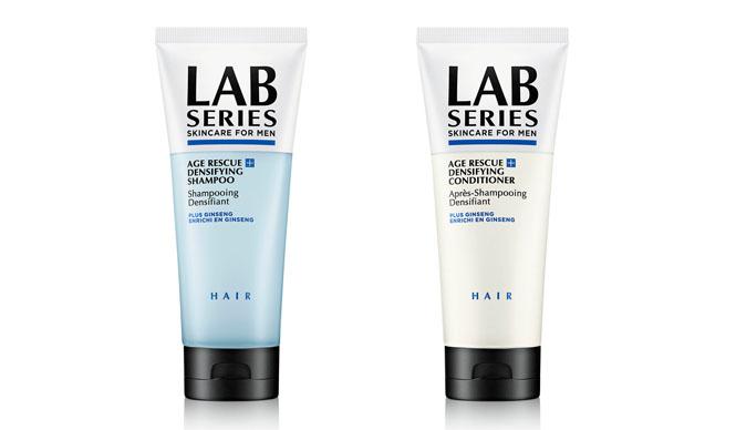 LAB SERIES|エイジングケアの代名詞「エイジ R+」成分を配合したシャンプー&コンディショナー発売