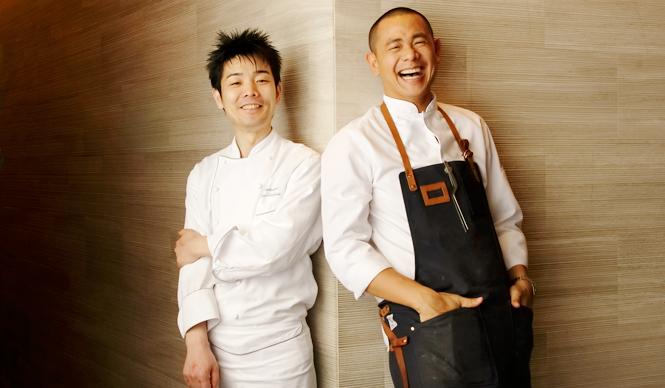 Diners Club|フランス料理界を牽引するふたりのシェフ、15年越しの競演ディナー開催