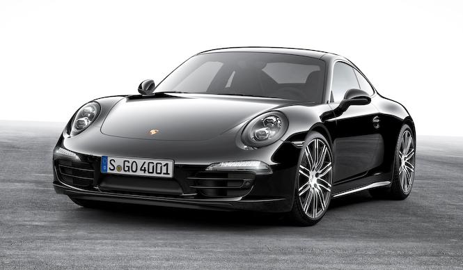 ポルシェ911とボクスターにブラックエディション登場|Porsche